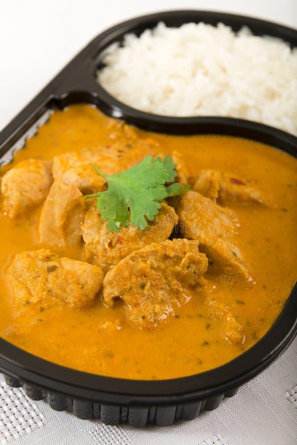 Takeaway curry obrazy stock