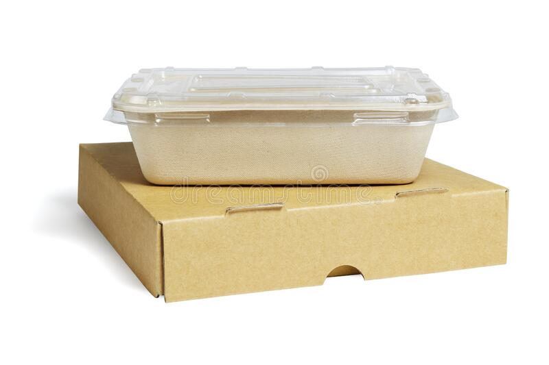 Takeaway Food Containers royalty free stock photos