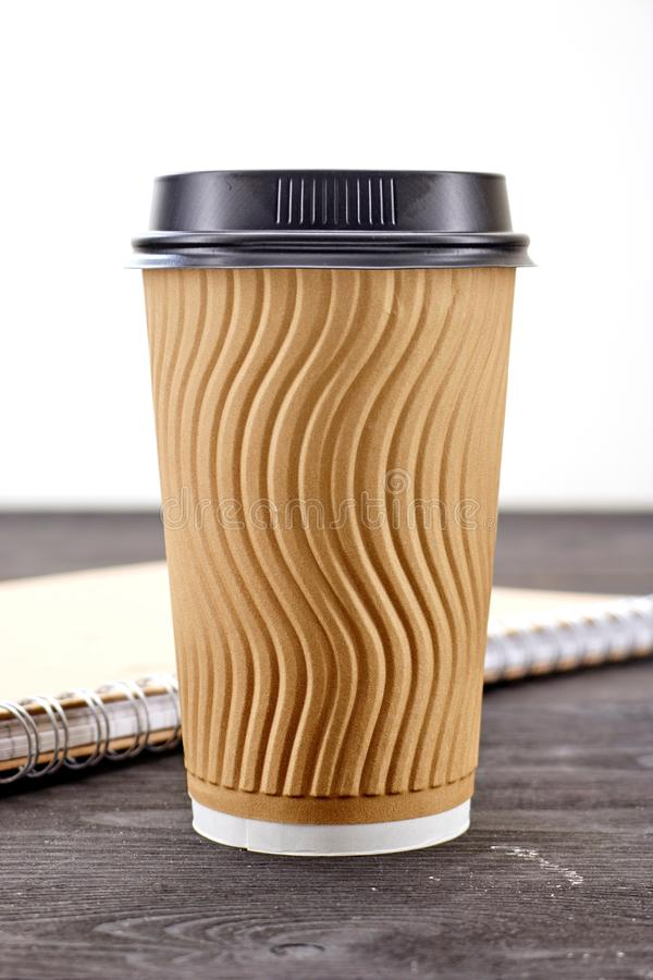 Takeaway kaffekopp royaltyfri foto