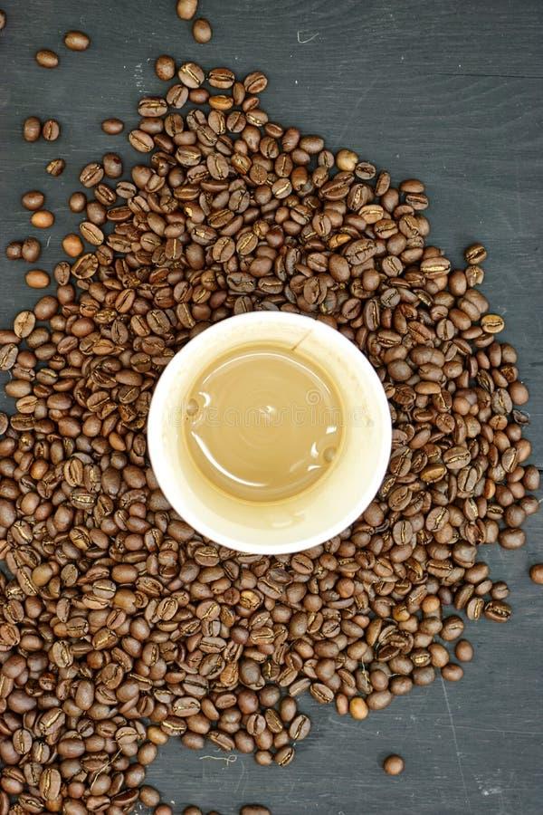 Takeaway kaffekopp arkivbild