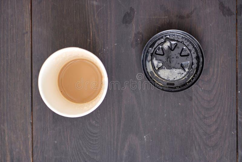 Takeaway kaffekopp royaltyfria foton