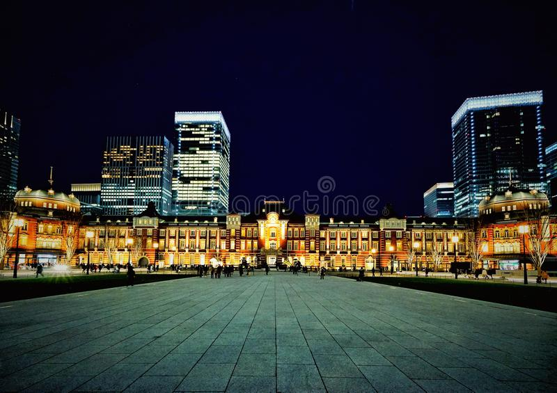 Tokyo Station. Taked from fron Tokyo Station royalty free stock image