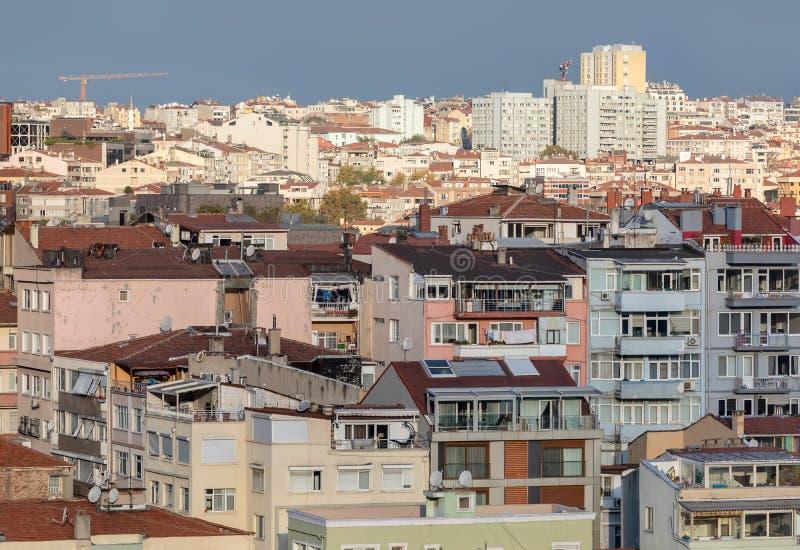 Taken av Istanbul, Turkiet royaltyfri fotografi