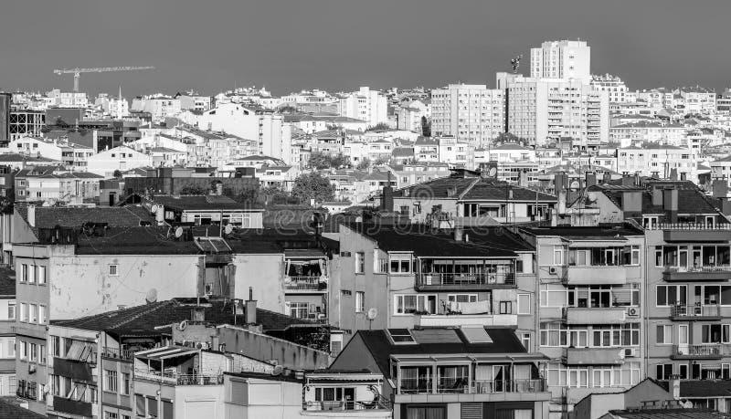 Taken av Istanbul, Turkiet fotografering för bildbyråer