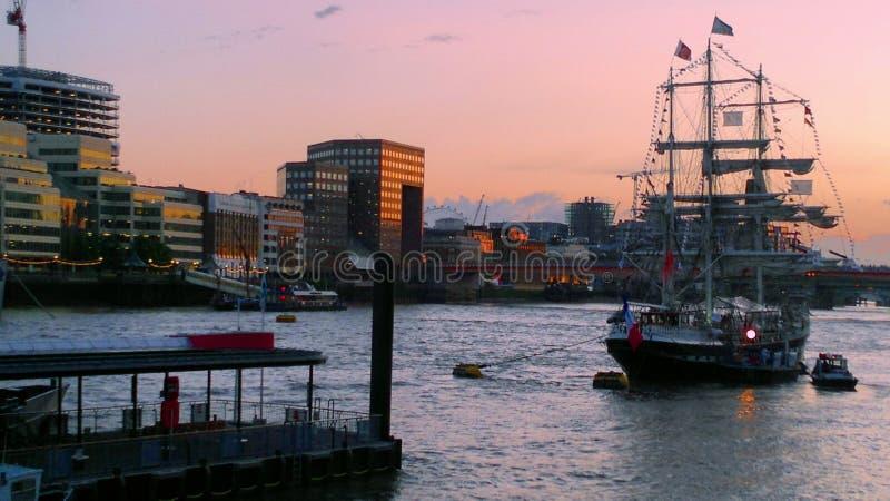 Port, London royalty free stock photography