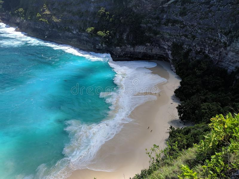 Nusa Penida, Bali Indonesia. Taken this pict in Kelingking Beach, Nusa Penida stock image