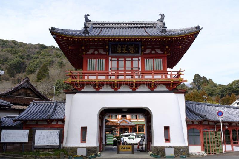 Takeo-Onsen royaltyfria bilder
