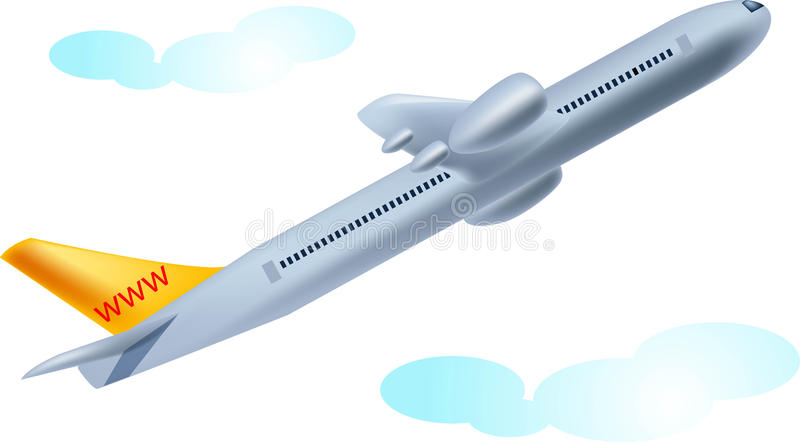 Download Takeoff stock illustration. Image of beautiful, business - 13406771