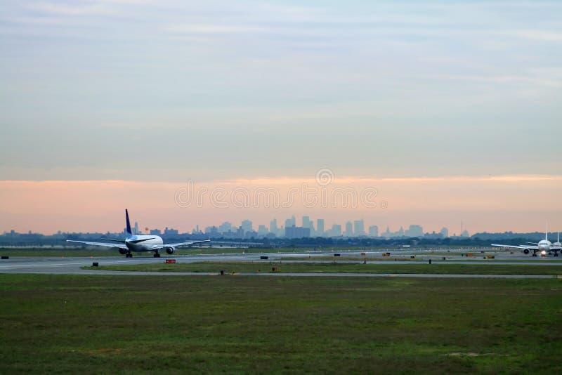 Takeoff At JFK Royalty Free Stock Images