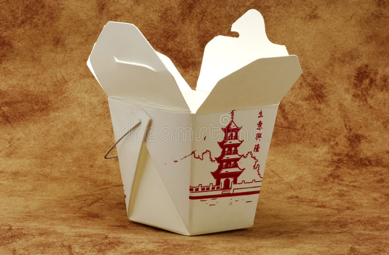 Takeout Carton. Photo of Chinese Food Takeout Carton stock photography