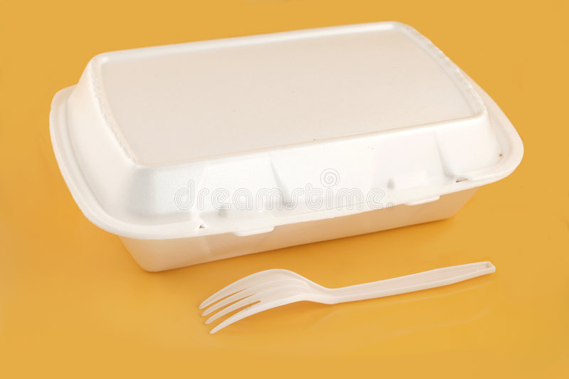 Takeout container royalty free stock images