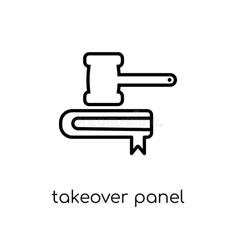 Takeover Panel-Ikone  vektor abbildung
