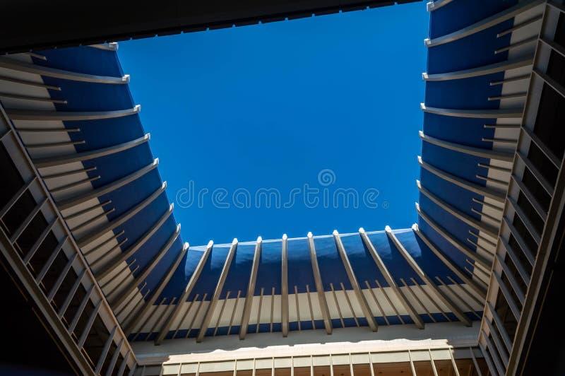 Takfönster för Hawaii statKapitolium royaltyfria foton
