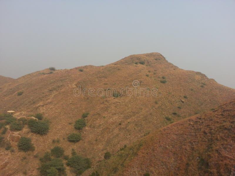 Takht-i-Bhai Parthian archeologiczny miejsce i Buddyjski monaster zdjęcie royalty free