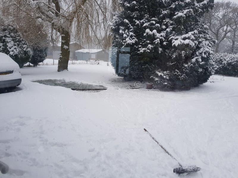 Taki śnieżny dzień zdjęcie stock