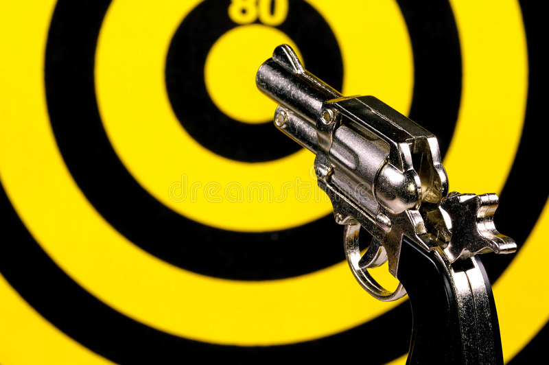Taking Aim stock images