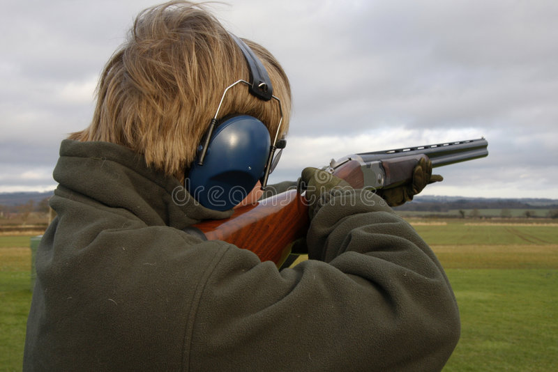 Download Taking Aim stock image. Image of hobby, protection, expensive - 7867851