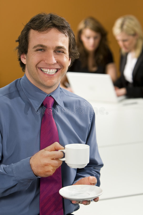 Download Taking A Break stock photo. Image of positive, coffee - 5142866