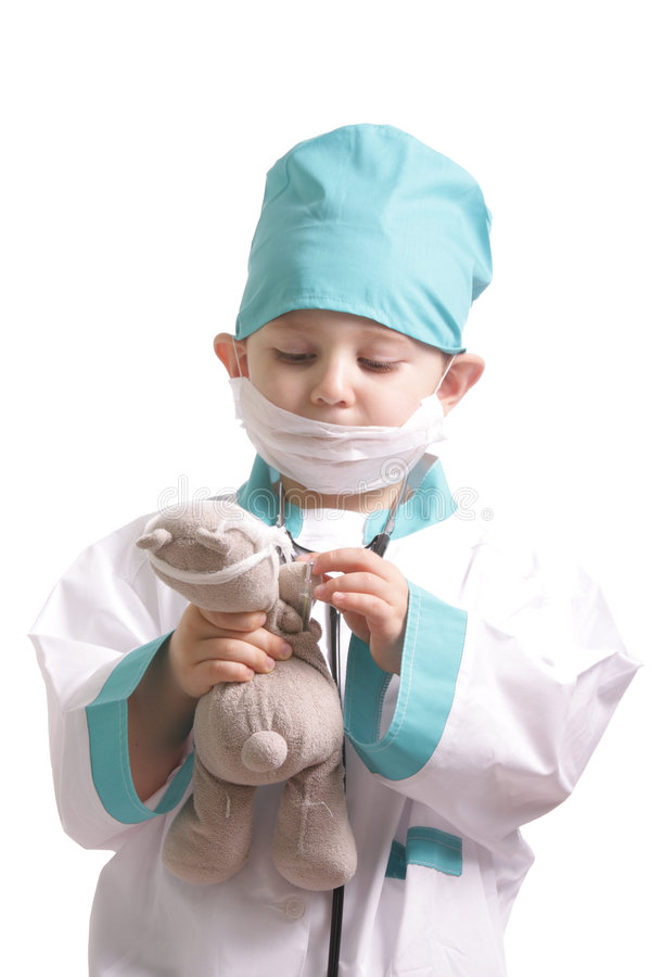 Download Taking Care Of Teddy Stock Images - Image: 6983584