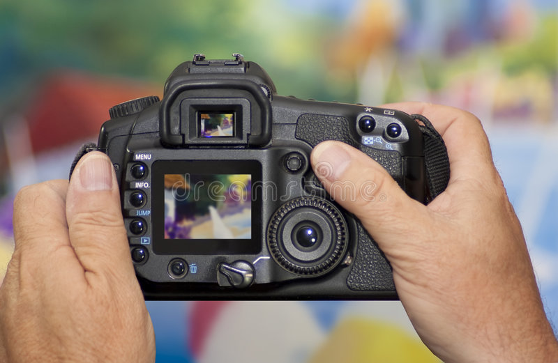 Download Taking Digital Camera Photograph Stock Image - Image: 8973319