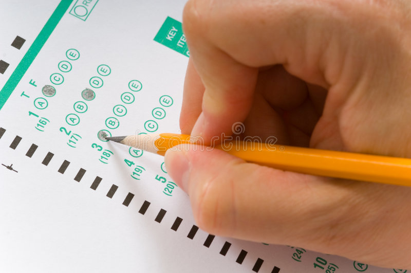Download Taking An Exam Royalty Free Stock Photography - Image: 3060437