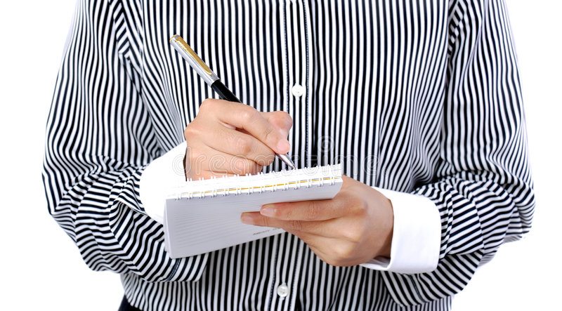 Download Taking note stock image. Image of businessman, interview - 2172575
