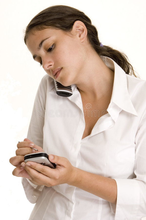 Download Taking Notes stock image. Image of palm, smartphone, data - 194331
