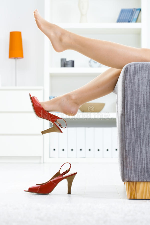 Free Taking Off Shoes Royalty Free Stock Images - 10629499