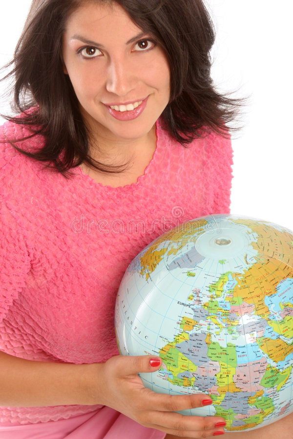 Download She Is Taking Over The World Stock Photo - Image: 186672