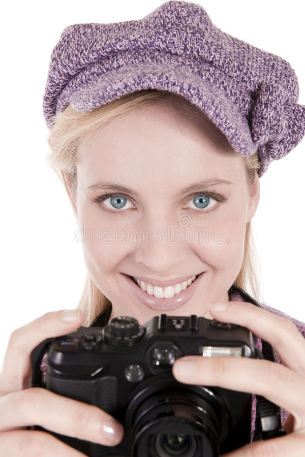 Download Taking a photo stock photo. Image of eyes, cold, digital - 12984838