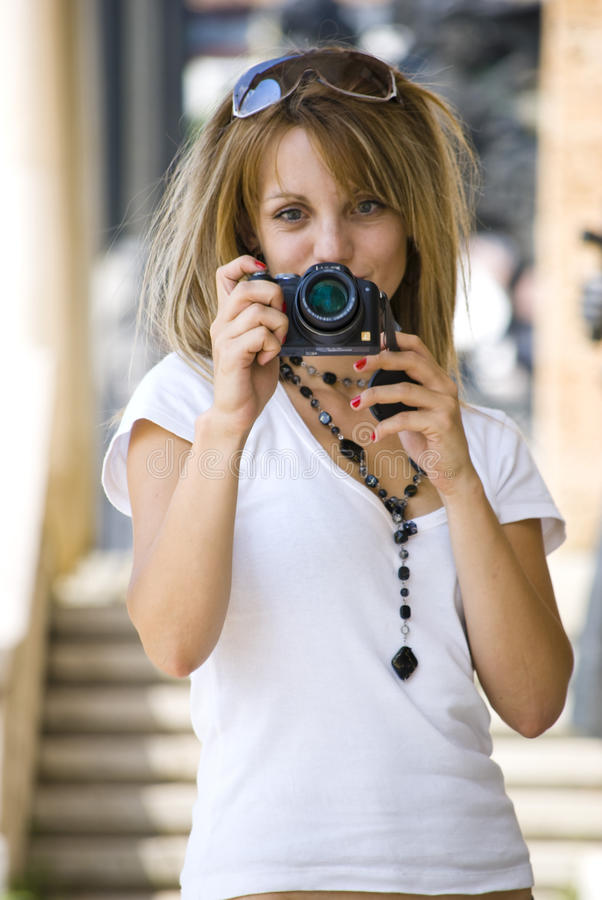 Download Taking photos stock image. Image of highlights, green - 10699457