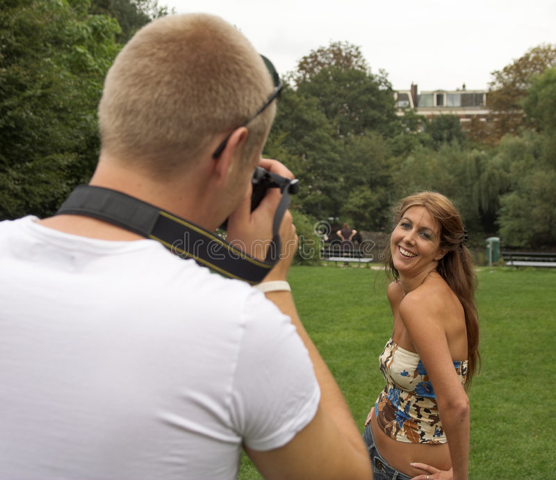 Download Taking pictures stock image. Image of pretty, memories - 1372675