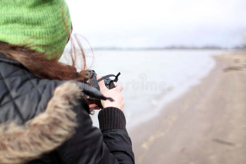 Taking Pictures Stock Photography