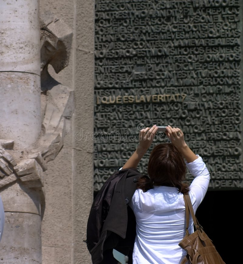 Download Taking pictures stock image. Image of gaudi, pictures, religious - 662047