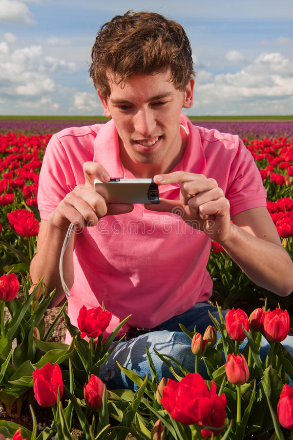 Download Taking pictures in Holland stock photo. Image of portrait - 24352030
