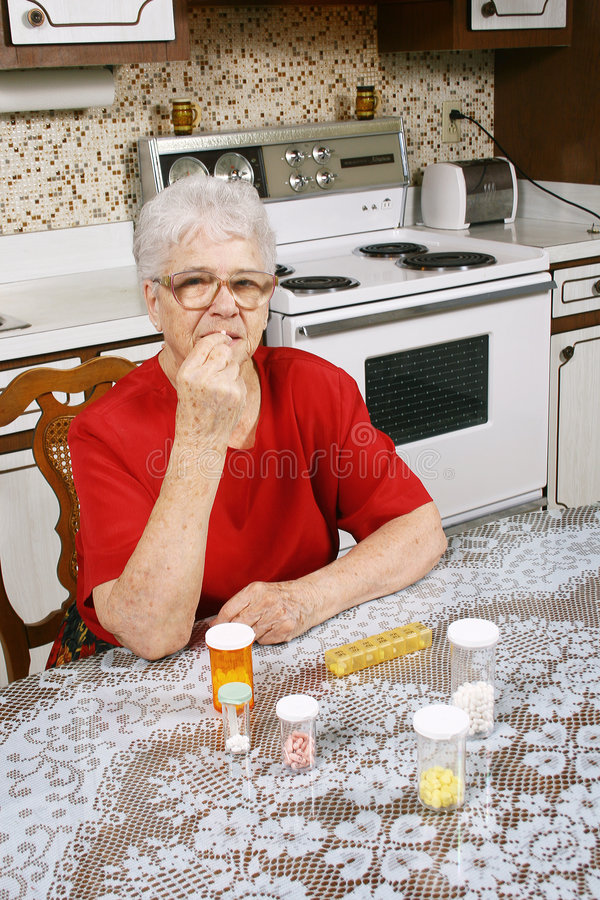 Download Taking pills stock photo. Image of illness, interior, nature - 4109586