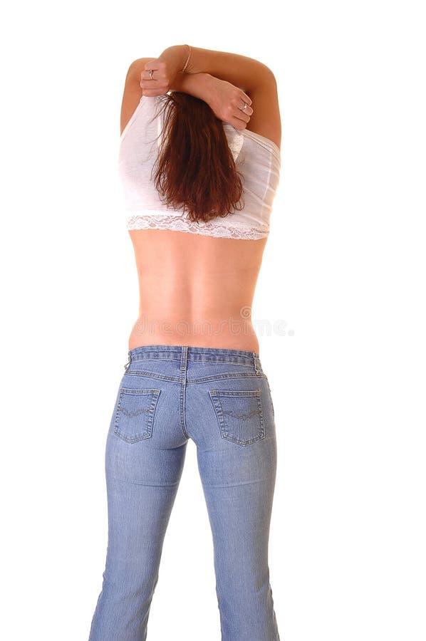 Free Taking Shirt Off. Stock Image - 9687811