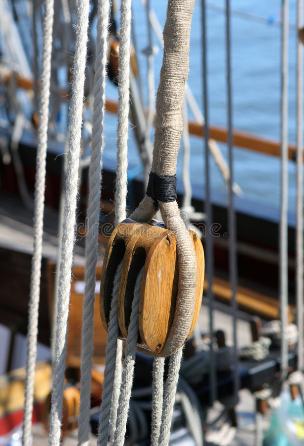 Download Taking the Strain stock image. Image of carved, boat, manual - 158863