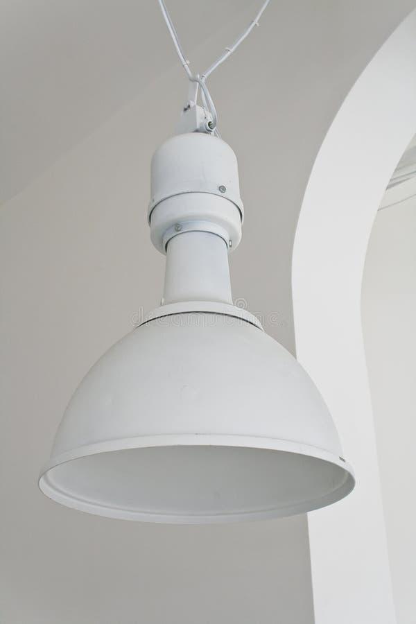 taklampwhite fotografering för bildbyråer