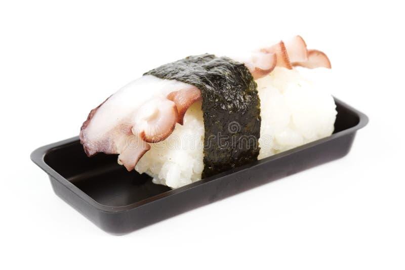 Tako-Sushi stockbilder