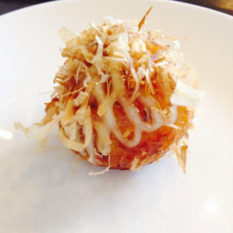 Takoyaki royaltyfri fotografi