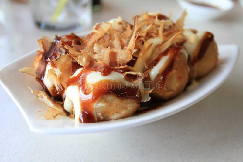 Takoyaki stockbilder