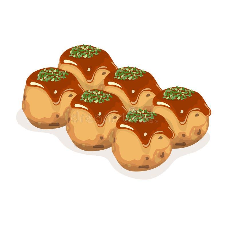 Takoyaki стоковые изображения rf