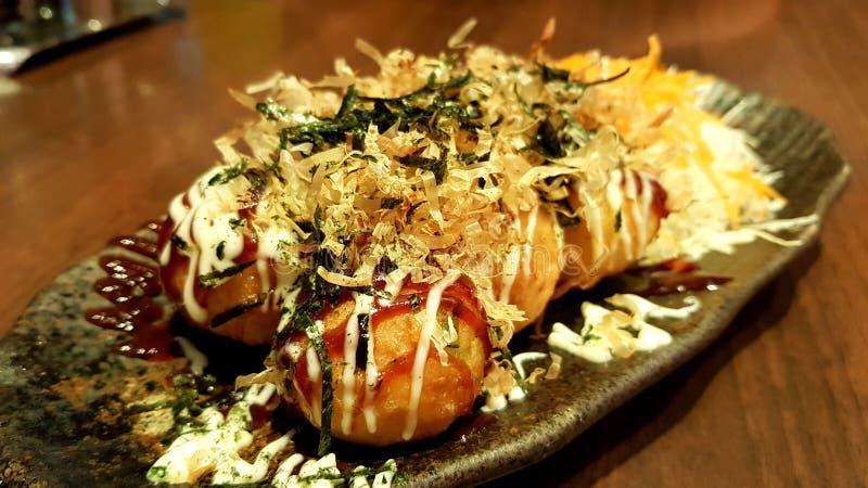 Takoyaki стоковое фото