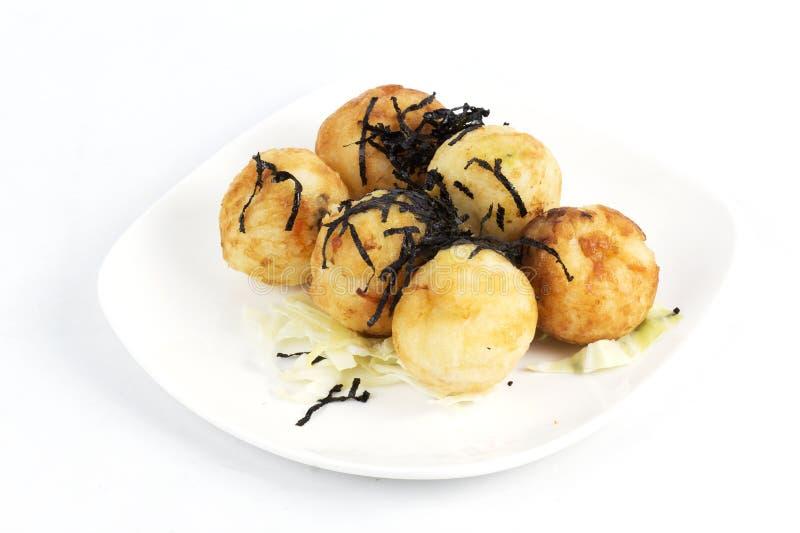 Takoyaki-Ballmehlkloß stockfoto