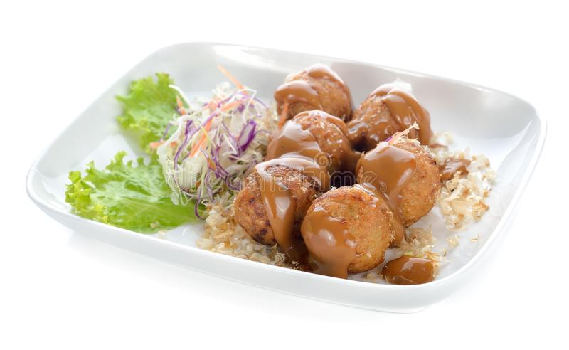 Takoyaki, nourriture japonaise photos stock