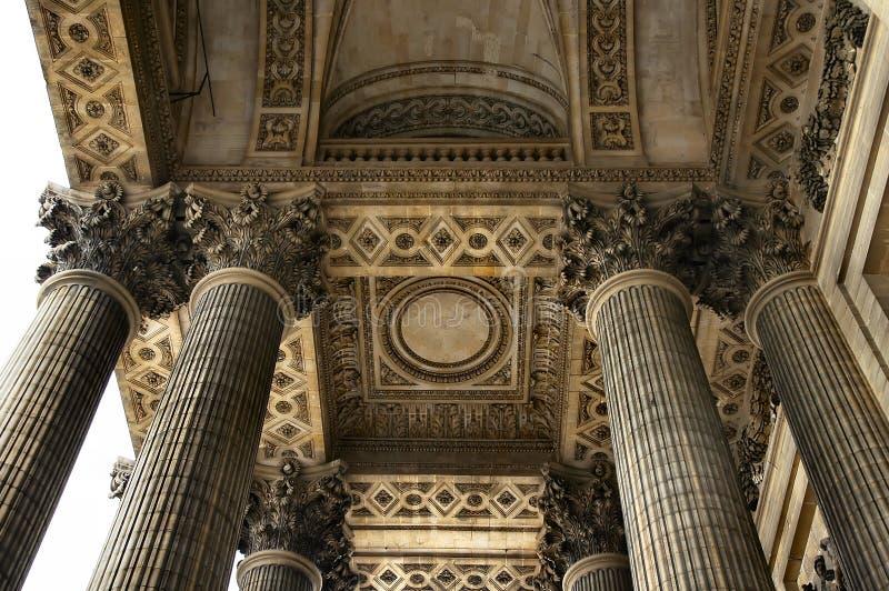 takpantheon royaltyfria foton