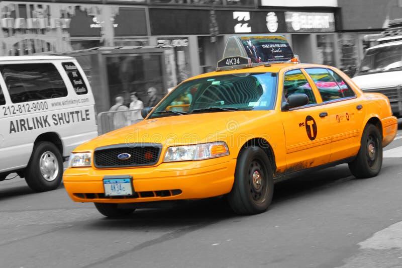 taksówka, nowy jork fotografia royalty free