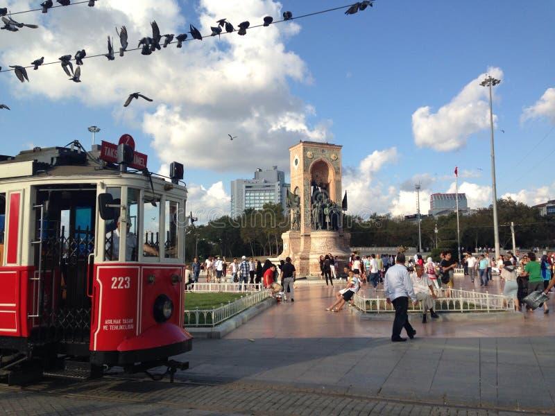 taksim d'Istanbul images libres de droits