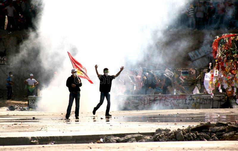 Taksim Gezi Parkı Protests royalty free stock photos
